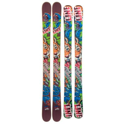 Line Afterbang Shorty Skis 2012- Kid's