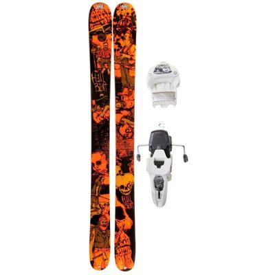 K2 Hell Bent Skis w/ Marker Griffon 12.0 Shizofrantic Bindings 2012- Men's