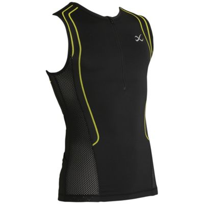 CW-X Men's Ventilator Web Triathlon Top