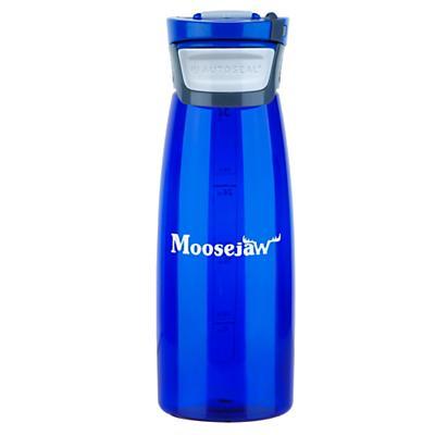 Moosejaw 32oz Avex Tritan Water Bottle BPA Free - Autoseal w/ Biner Clip