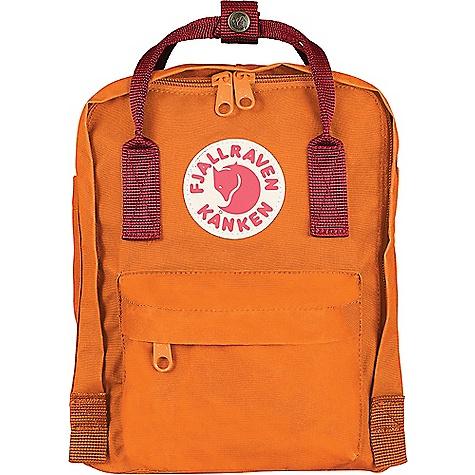 Fjallraven Kanken Mini Backpack Burnt Orange / Deep Red