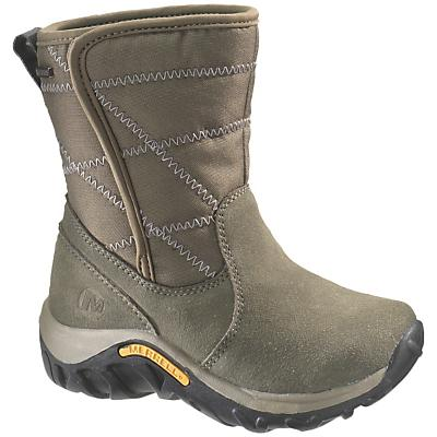 Merrell Youth Jungle Moc Quilted Waterproof Boot