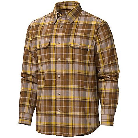 photo: Marmot Bowls Long Sleeve Flannel hiking shirt