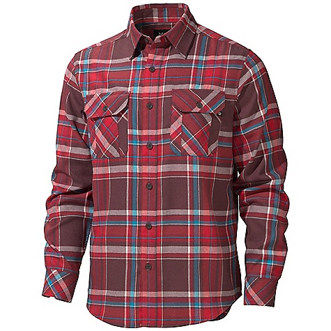 photo: Marmot Doran Long Sleeve Flannel hiking shirt