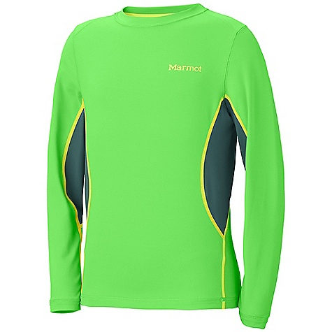 photo: Marmot DriClime Crew LS base layer top