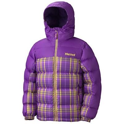 Marmot Girls' Guides Down Hoody - Plaid
