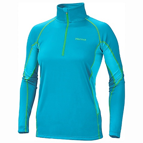 photo: Marmot Women's Lightweight Zip Neck base layer top