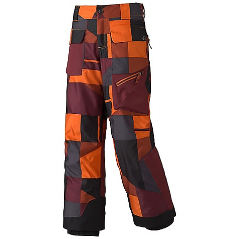 photo: Marmot Mantra Geo Insulated Pants snowsport pant