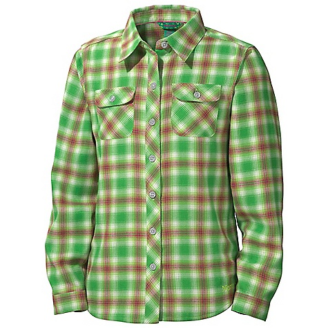 photo: Marmot Girls' Southshore Flannel Shirt hiking shirt