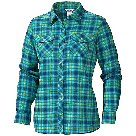 photo: Marmot Southshore Flannel Shirt hiking shirt