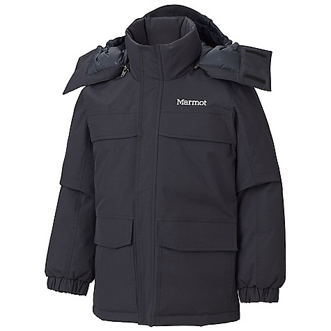 photo: Marmot Boys' Yukon Parka down insulated jacket