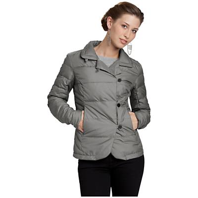 Nau Women's Down Blazer Check Jacket