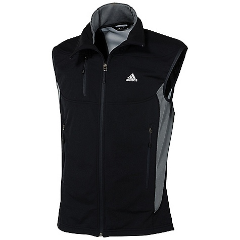 photo: Adidas Hiking 1 Side Fleece Vest fleece vest