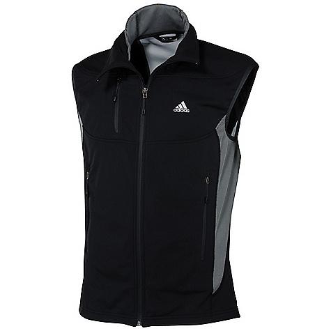photo: Adidas Hiking 1 Side Fleece Vest fleece vest
