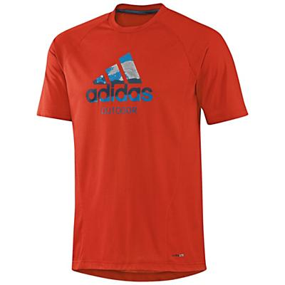 Adidas Men's Hiking Dri-Release Logo Tee