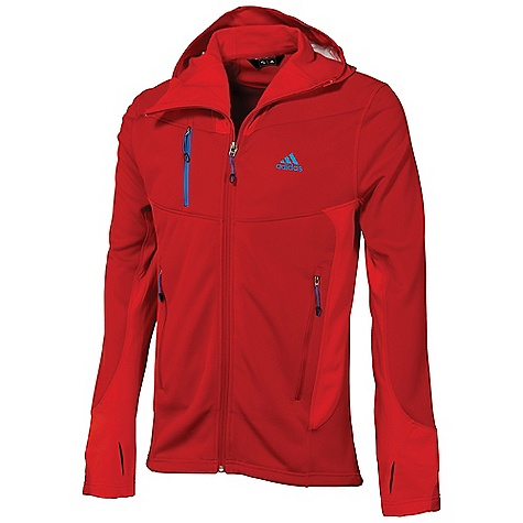 photo: Adidas Men's Hiking 1 Side Hooded Jacket fleece jacket