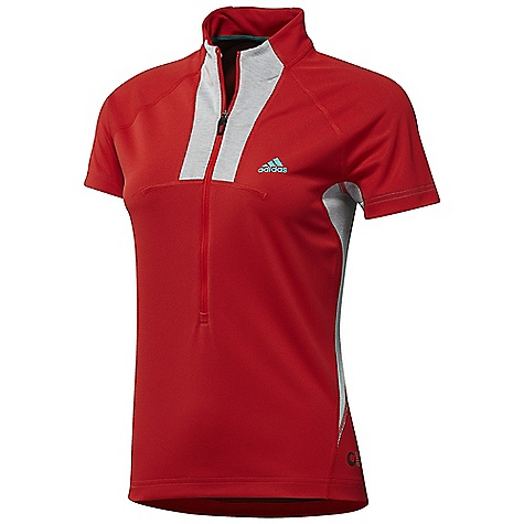 photo: Adidas Supertrekking 1/2 Zip short sleeve performance top