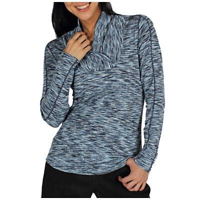ExOfficio Women's Chica Cool Shawl Collar LS Top