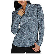 ExOfficio Women's Chica Cool Shawl Collar LS Top