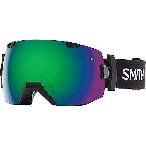 Smith IOX Goggle Black / Green Sol-X Mirror / Red Sensor Mirror