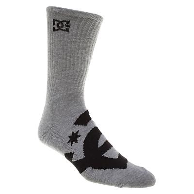DC Willis Socks Heather/ (3 Pack) - Men's
