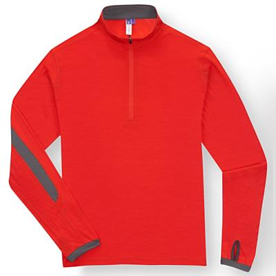 Ibex Men's Echo Sport LS Zip Top