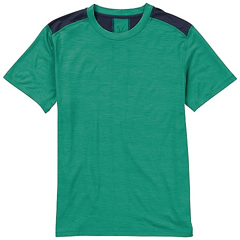 photo: Ibex Echo T short sleeve performance top