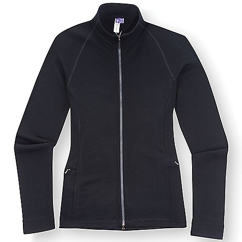 photo: Ibex Women's Shak Full Zip long sleeve performance top
