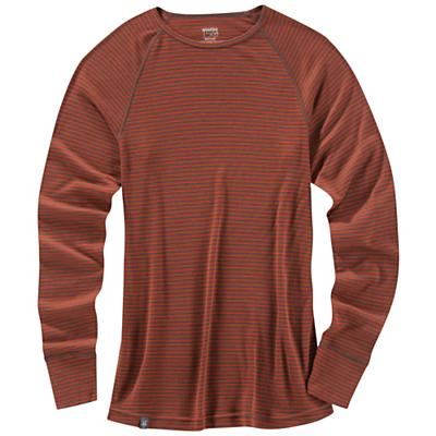 Ibex Men's Woolies Striped Crew Top