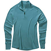 Ibex Women's Woolies Zip T-Neck