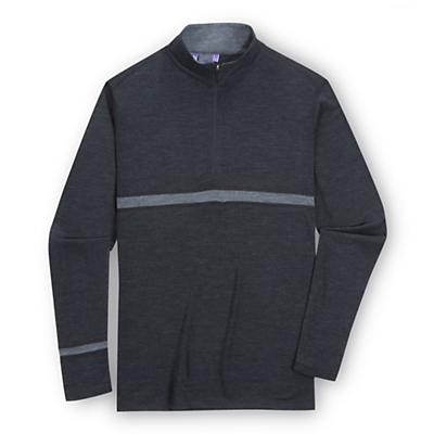 Ibex Men's Indie LS Zip Top