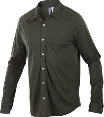 Ibex Men's OD Heather LS Shirt