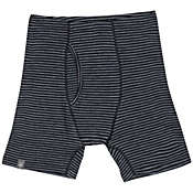 Ibex Men's Woolies 150 Stripe Boxer Brief