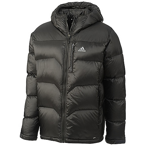 photo: Adidas Hiking Down Hoodie down insulated jacket