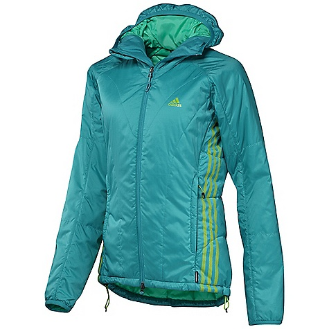 photo: Adidas Women's Terrex Swift Primaloft Hoodie synthetic insulated jacket