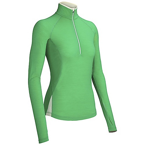 photo: Icebreaker Bolt Long Sleeve Half Zip base layer top