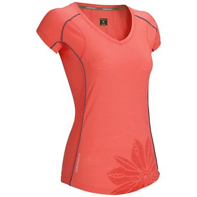 Icebreaker Women's Flash SS V Top
