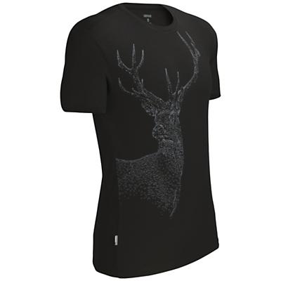 Icebreaker Men's Tech T Lite SS Top Red Stag