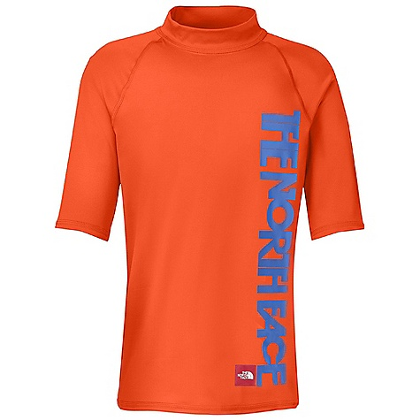 photo: The North Face 3/4 Sleeve Hydrosize Rash Guard short sleeve rashguard