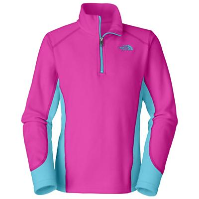 The North Face Girls' Glacier Micro 1/4 Zip Fleece