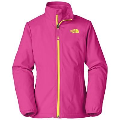 The North Face Girls' Mossbud Softshell Jacket