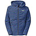 The North Face Boys' Striped Glacier Full Zip Hoodie
