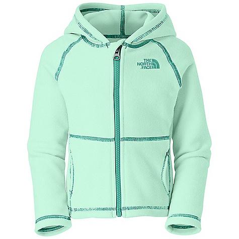 photo: The North Face Girls' TKA 100 Glacier Full Zip Hoodie fleece jacket