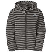 The North Face Toddler Boys' Stripe Glacier Full Zip Hoodie