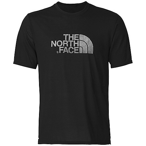 photo: The North Face Graphic Logo Reaxion Crew short sleeve performance top