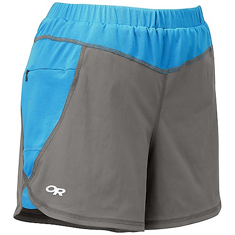 photo: Outdoor Research Women's Throttle Shorts hiking short