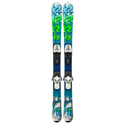 K2 Indy Skis w/ Marker Fastrak2 4.5 Bindings - Kid's