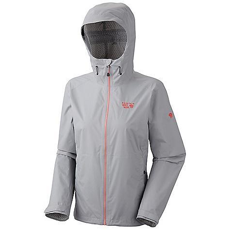 photo: Mountain Hardwear Women's Plasmic Jacket waterproof jacket