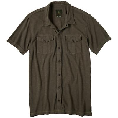 Prana Men's Hayes Button Down SS Polo