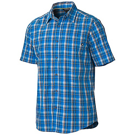 photo: Marmot Alder Plaid SS hiking shirt